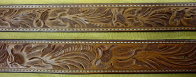 Hand Carved Belts