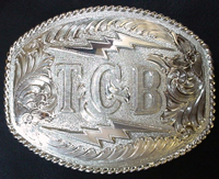 Elvis TCB-Taking Care of Business Buckle