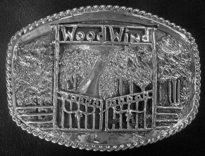 Scene Buckle for Woodwind Ranch