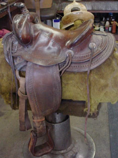 Barn Find Saddle