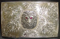 Custom Lion Belt Buckle